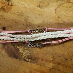 Jewelry - Layered Pink Bracelet